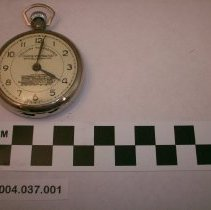 Image of Joseph Hannigan's stopwatch - Watch, Pocket