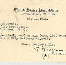 Image of Post Office request