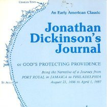 Image of Jonathan Dickinson's Journal or, God's Protecting Providence.