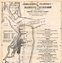 Image of back of letter includes map