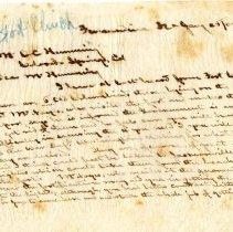 Image of Handwritten letter
