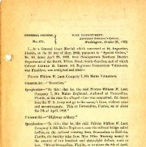 Image of General Orders No 171