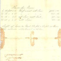 Image of Bills of Nassau Light Artillery from 1880 - Invoice