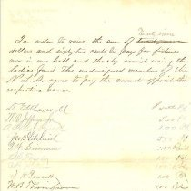 Image of Nassau Light Artillery assessment of members