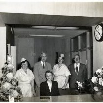 Image of Nassau County Health Department workers - Print, Photographic