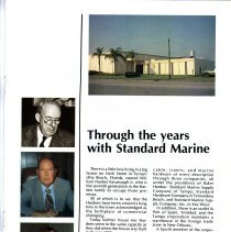 Image of Through the years with Standard Marine