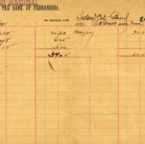 Image of Island City Band bank book
