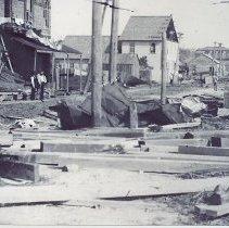 Image of 1898 hurricane - Print, Photographic