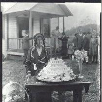 Image of Mary Elizabeth Jones, age 100 - Print, Photographic