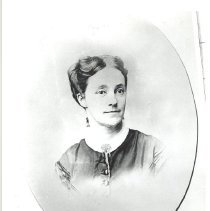 Image of Chloe Merrick (Mrs. Harrison Reed), 1832-1897 - Print, Photographic