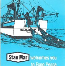 Image of Stan Mar welcomes you to Expo Pesca Pan Americana - Pamphlet