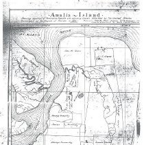 Image of Amalia Island map 1821