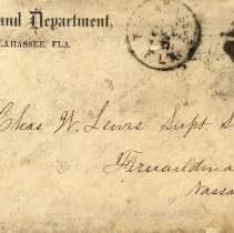 Image of Letter to Chas. W. Lewis