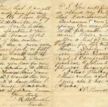 Image of Letter to Mr. Lewis
