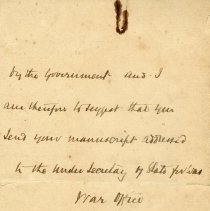 Image of Letter from Duke of York
