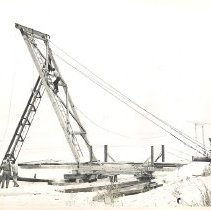 Image of Dock Construction - Print, Photographic