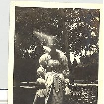 Image of Woman in costume - Print, Photographic