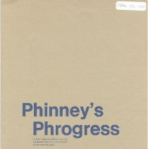 Image of Phinney's phrogress or how I helped a little five-year-old corporation become a world leader in just over forty years - Pamphlet