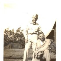 Image of Capt & Myself 6/4/44