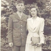 Image of HAl and Claire 1943