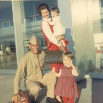 Image of Curtis and family 1965