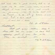 Image of S.F. Oden letter to folks p.2