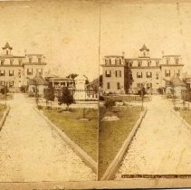 Image of Stereoview: St. Joseph's Convent - Stereoview