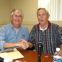 Image of R. Hamer and Charles Hooks