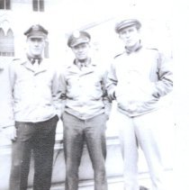 Image of Richard and friends 1944