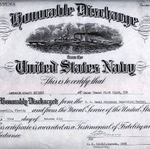 Image of discharge papers