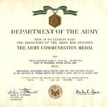 Image of The Army Commendation Medal