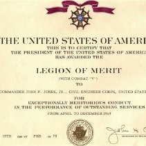Image of Legion Of Merit W Combat V
