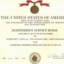 Image of Meritorious Service Medal 2nd