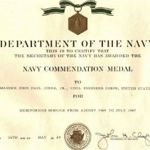 Image of Navy Commendation Medal