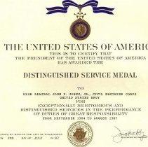 Image of Distinguished Service Medal