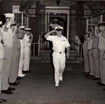 Image of retirement ceremony
