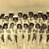 Image of Graduating Nursing Class 1968