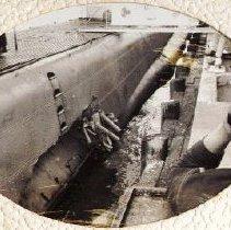 Image of bridge of USS Grenadier SS 525