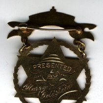 Image of O. Galphin's Proficiency Medal