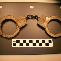 Image of Handcuffs from Nassau County Jail