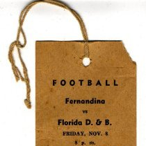Image of Football ticket