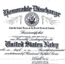 Image of Honorable Discharge