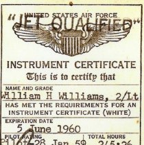 Image of instrument certificate