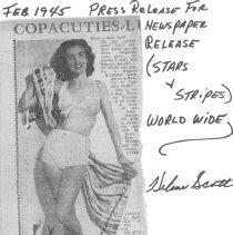Image of Helene Scott Stars & Strips 1945