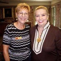 Image of Bobbie Fost (L) and Helene Scott