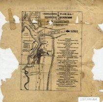 Image of Fernandina Florida map