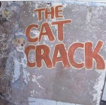 Image of The Cat Crack - Sign, Trade