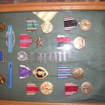 Image of Allen's Medal Board