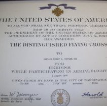 Image of Flying Cross Award