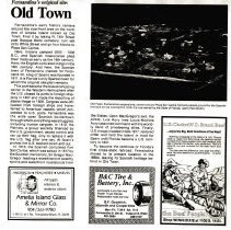 Image of Old Town:  Fernandina's original site - Article